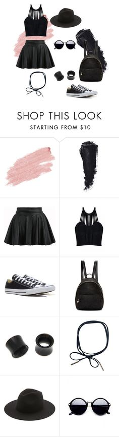 """""""Day Out"""" by call-me-satan ❤ liked on Polyvore featuring Jane Iredale, Posh Girl, Converse, STELLA McCARTNEY, NOVICA and Études"""