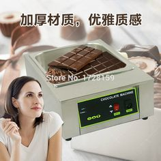 Stainless steel Commercial110v 220v  8.5kgs capacity Electric chocolate melting machine,melting chocolate machine+ Free Shipping