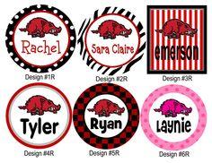 Go Hogs! Hog designs for shirts.