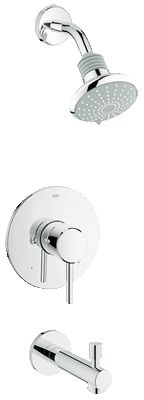 Concetto Pressure Balance Valve Bath Combination 35009001 List : $359 Display cost: $152.40 include mounting kit