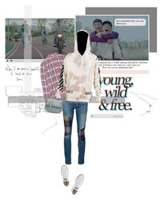 """""""From your head to your toes, everything..."""" by createjewels ❤ liked on Polyvore featuring rag & bone/JEAN, Current/Elliott, Converse and Valentino"""