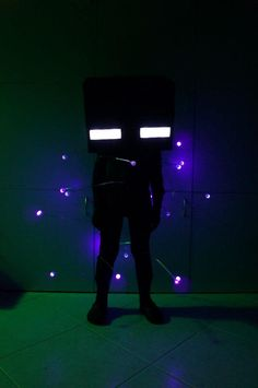 Glowing Enderman Costume - Imgur