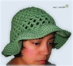Coraline's Sun Hat Free crochet pattern by Simply Collectible