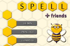 9 best spelling beeeas images on pinterest spelling bee spell friends is the one app for school bees regional bees and for fandeluxe Image collections