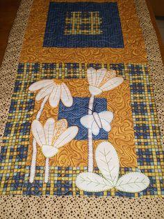 Detalhe Trilho de Mesa Margaridas | Trilho de Mesa em patchw… | Flickr