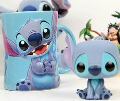 Disney Pop, Disney Mugs, Disney Fan Art, Cute Disney, Disney Girls, Lilo Stitch, Cute Stitch, Stitch And Angel, Kawaii