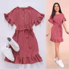 Girls Fashion Clothes, Teen Fashion Outfits, Indian Fashion Dresses, Girl Fashion, Fashion Photo, Cute Casual Outfits, Stylish Outfits, Casual Dresses, Summer Outfits