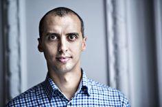 Portræt af Mattias Tesfaye til BT's politiske mandagsklumme på dabatsiderne.