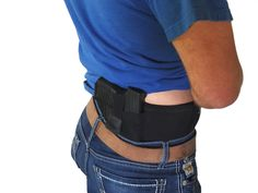 One size fits most - fits men and women up to Waist (Measure the area you would like to wear this holster)This can be worn right up against the skin due to Concealed Carry Holsters, Gun Holster, Ruger Lcp, M&p Shield, Belly Bands, Guns And Ammo, Classy Outfits, Firearms, Hand Guns
