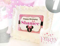 Shanice 1st Birthday