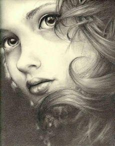Pencil Portraits - Coloring for adults - Kleuren voor volwassenen - Discover The Secrets Of Drawing Realistic Pencil Portraits.Let Me Show You How You Too Can Draw Realistic Pencil Portraits With My Truly Step-by-Step Guide. Portrait Au Crayon, L'art Du Portrait, Pencil Portrait, Portraits, Drawing Sketches, Art Drawings, Drawing Ideas, Sketching, Arte Sketchbook