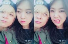 f(x)'s Amber cheers on Girl's Day Minah for her solo debut