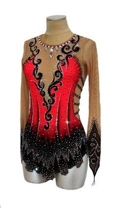 red rhythmic leo from www.paintyourdream.it