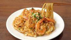 Fried Shrimp, Shrimp Stir Fry, Pasta China, Udon Noodles, Shrimp Noodles, Asian Recipes, Ethnic Recipes, Rice Vermicelli, Cook Up A Storm