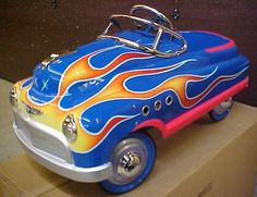 custom pedal car