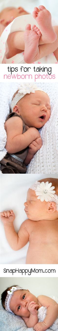 Tips for Taking Newborn Photos