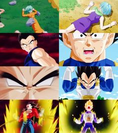 """I really love the fact that Dragon Ball Heroes adds these little pieces of story like this. It kinda helps push the idea of Dragon Ball GT being it's own timeline to me. Why? Because I like to think that the GT timeline originated because Beerus never awoke from his slumber. So the timeline tried to rectify itself and piece itself in as similar of a way as the """"mainstream"""" timeline as it could. So subtle similarities are found between timelines. I think that's cool.  #SonGokuKakarot"""