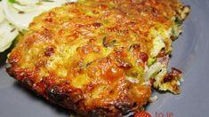 Sekaná z cukety – vyskúšajte ju hneď na obed: Výborné papanie z plechu, ktorý viete rýchlo pripraviť – zasýti celú rodinu! Lasagna, Food And Drink, Cooking Recipes, Snacks, Meals, Ethnic Recipes, Fit, Zucchini Cake, Vegetarian