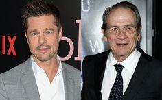 ブラッドピット新作映画でトミーリージョーンズと父子役へ