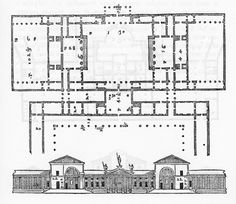 19) Villa Thiene; Quinto Vicentino (Vicenza); built between 1545 and 1546, remodelled during XVIII c. (19th in order of publication: Second Book, Chapter XV, page 64)