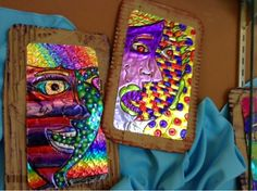 Art at Becker Middle School: Picasso Portraits (tooling foil edition)