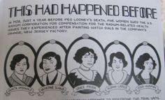 Image result for radium dial company Radium Girls, Death, Shit Happens, History, Image, Historia