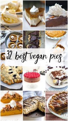 32 Best Vegan Pies from some of the best food bloggers around!
