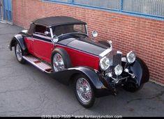 1930 Rolls-Royce Phantom II Cabriolet