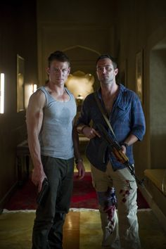 Man Candy Monday - Strike Back's Philip Winchester & Sullivan Stapleton Philip Winchester, Sullivan Stapleton, Strike Back Tv Series, Man Images, Hot Actors, Me Tv, Classic Tv, Richard Armitage, Favorite Tv Shows
