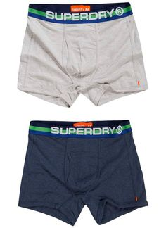 Superdry M31001WOF2 RETRO SPORT 2-PACK Boxershorts navy marl/ice marl zth  Description: Superdry m31001wof2 retro sport 2-pack Heren kleding Ondergoed donker blauw? 2995  Direct leverbaar uit de webshop van Express Wear  Price: 29.95  Meer informatie