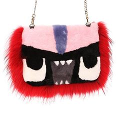New Trending Clutch Bags: URSFUR Women's Lamb Fur Shoulder Handbag Fur Trim Monster Tote Clutch Purse Bag. URSFUR Women's Lamb Fur Shoulder Handbag Fur Trim Monster Tote Clutch Purse Bag   Special Offer: $95.81      300 Reviews 2016 Latest and Fashion style.It made by natural and soft lamb fur and fox fur;Eye little monster keep you in the forehead of fashion.Material-Genuine lamb fur and...