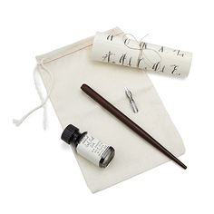 Look what I found at UncommonGoods: calligraphy starter kit... for $35 #uncommongoods