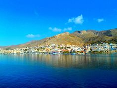 Overview of Pothia Town Greek Islands, More Photos, Greece, River, Outdoor, Beauty, Greek Isles, Greece Country, Outdoors