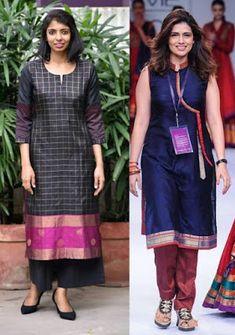 21 Kurti from old saree designs || Saree reuse Ideas | Bling Sparkle
