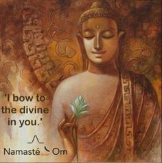 i bow to the divine within you namaste