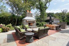 How to Build a Backyard Playhouse - Othence Outdoor Living Areas, Outdoor Rooms, Outdoor Decor, Living Spaces, Porches, Fresco, Indoor Outdoor Fireplaces, Design Exterior, Backyard Playhouse