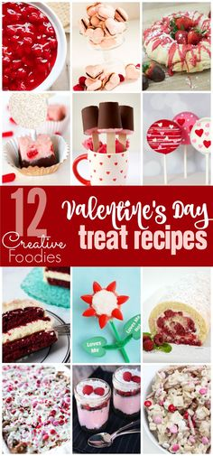 12 Amazing Valentine's Day dessert ideas everything from the best Oreo pops recipe to cheesecake dips! I can't wait to try that snack mix! Valentines Day Desserts, Valentine Treats, Valentine Cake, Homemade Valentines, Oreo Pops, My Funny Valentine, Printable Valentine, Free Printable, Cherry Cheesecake Dip