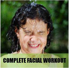 Face Exercise: How to do a Complete Facial Workout! on EruptingMind Face Yoga Exercises, Hair Loss Women, Natural Beauty Tips, Ab Workouts, Facial Care, Tips Belleza, Facials, Yoga For Beginners, Smokey Eye