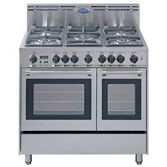 DeLonghi Stainless Steel 36-inch Gas Range | Overstock.com Shopping - The Best Deals on Ranges & Ovens