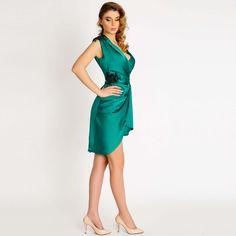 Rochie de zi Maia One Shoulder, Shoulder Dress, Dresses, Fashion, Atelier, Vestidos, Moda, Fashion Styles, Dress