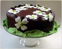 Dogwood cake - gorgeous!
