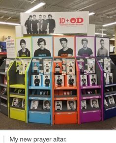 I went here today!!!!!! I got a bunch of school supplies and some locker stickers! YAYAYAYAY!!! And I got my picture taken with them....well the picture of them on the banner on the back.