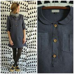 The Timbermill Dress By Garmenthouse (http://garmenthouse.bigcartel.com/product/linen-timbermill-dress) J'adore !