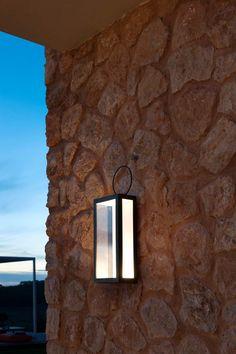 Contemporary wall light / garden / aluminum / LED OSLO by Carlo Martino Unopiu Oslo, Led Lantern, Lanterns, Lantern Lighting, White Wall Lights, Contemporary Wall Lights, Applique Led, Led Lamp, Gardens