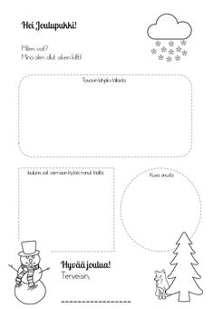 Suomi-koulussa – Suomea vähän hauskemmin sveitsin- ja ranskansuomalaisten lasten kanssa Children, Kids, Christmas Crafts, Printables, Young Children, Young Children, Boys, Boys, Print Templates