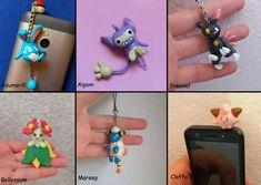 Pokemon Charm Dust Plug Azumarill Aipom Sneasel Bellosom Mareep Cleffa #pokemon #azumarill #aipom #sneasel #bellosom #mareep #cleffa #polymerclay #claycrafts #kawaii #cute Polymer Clay Figures, Polymer Clay Charms, Dust Plug, Anime Figures, Clay Crafts, Plugs, Kawaii, Charmed, Messages