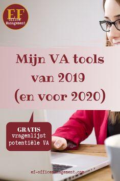 Mijn VA tools van 2019 (en voor 2020)   EF Office Management