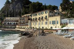 Zone Out on the Beach in Sicily at Villa Sant'Andrea | FATHOM Sicily Travel Guides and Travel Blog