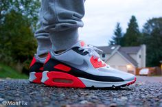 Love these Nike AM90 Hyperfuse #sneakers