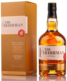 Виски The Irishman Single Malt Bourbon Liquor, Whisky Bar, Liquor Drinks, Bourbon Drinks, Drinks Alcohol, Best Irish Whiskey, Single Malt Irish Whiskey, Whiskey Label, Scotch Whiskey